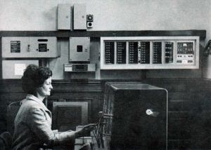 Telephone exchange,1971